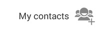 Contacts View