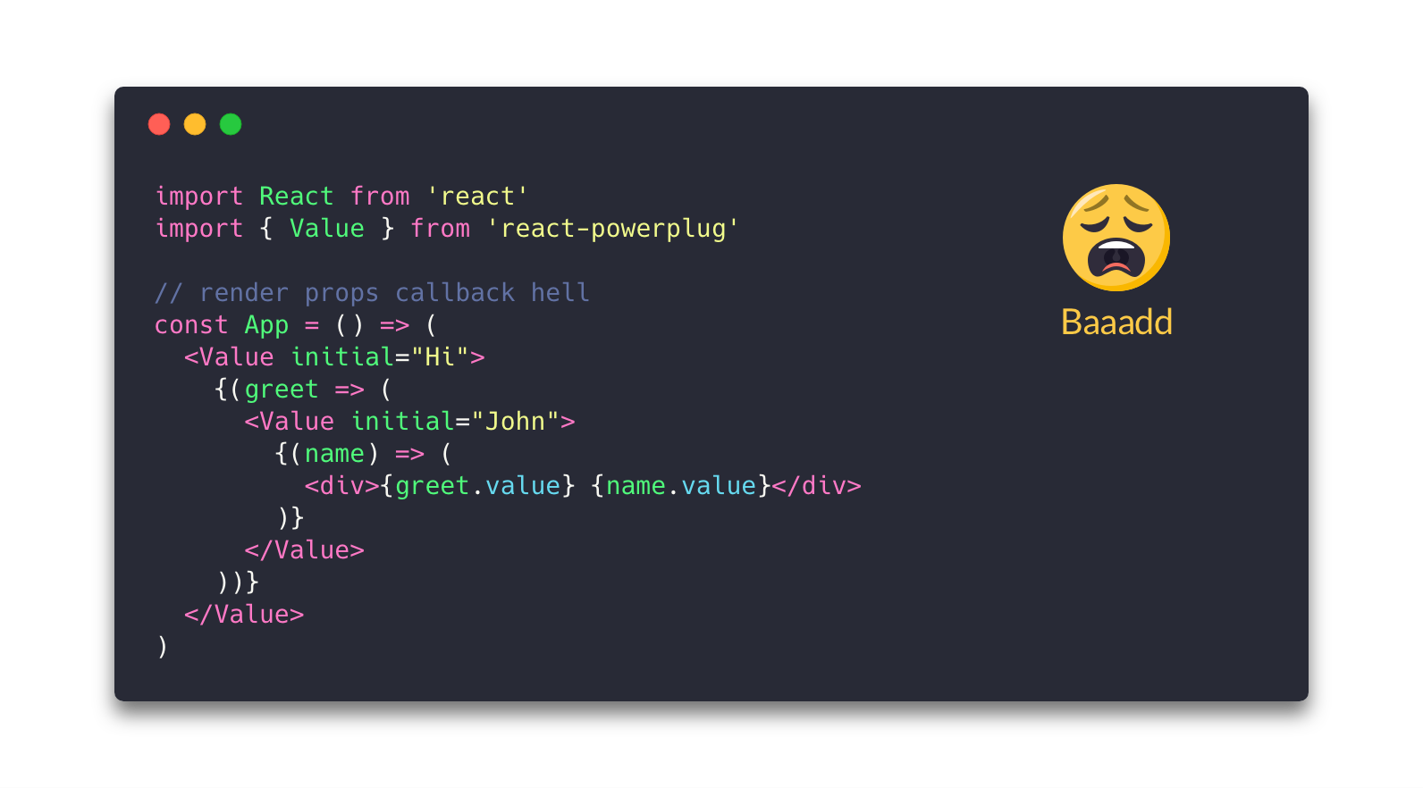 GitHub - pedronauck/react-adopt: Compose render props