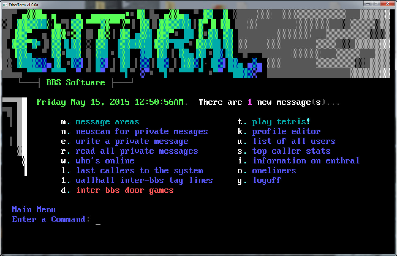 Alt text  sc 1 st  GitHub & GitHub - M-griffin/Enthral: Enthral BBS (ARM Linux BSD OSX)