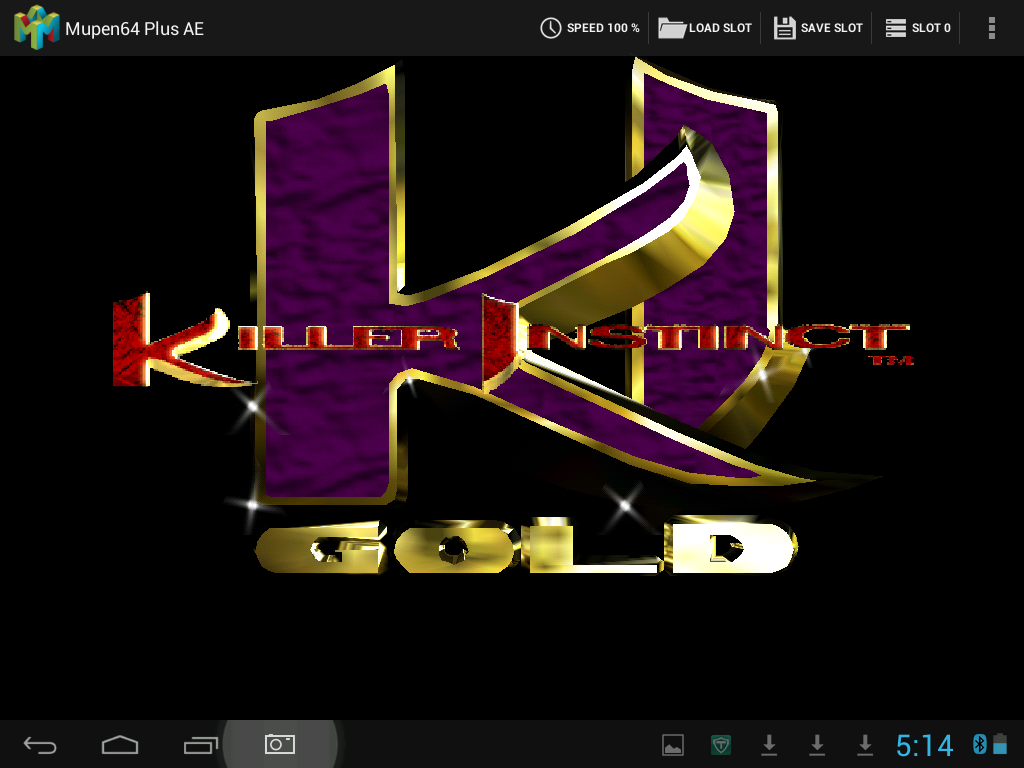 Killer Instinct Gold, No menu options, and other graphical glitches