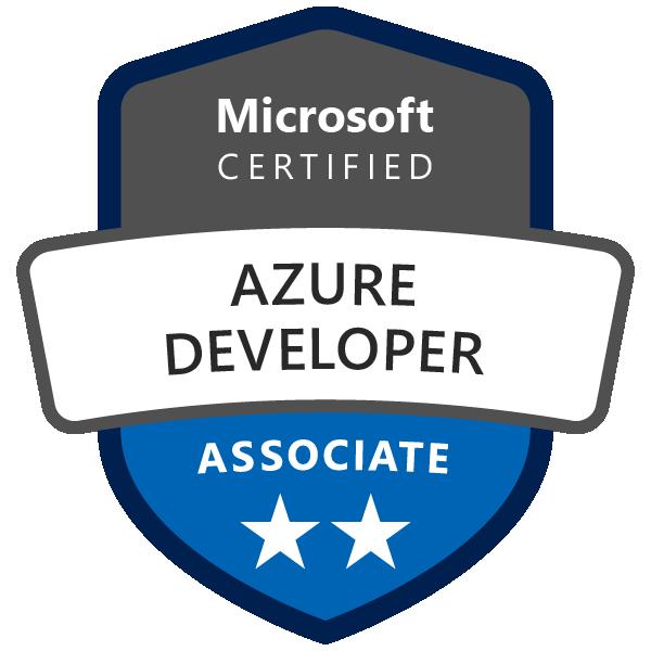 Microsoft Certified: Azure Developer Associate