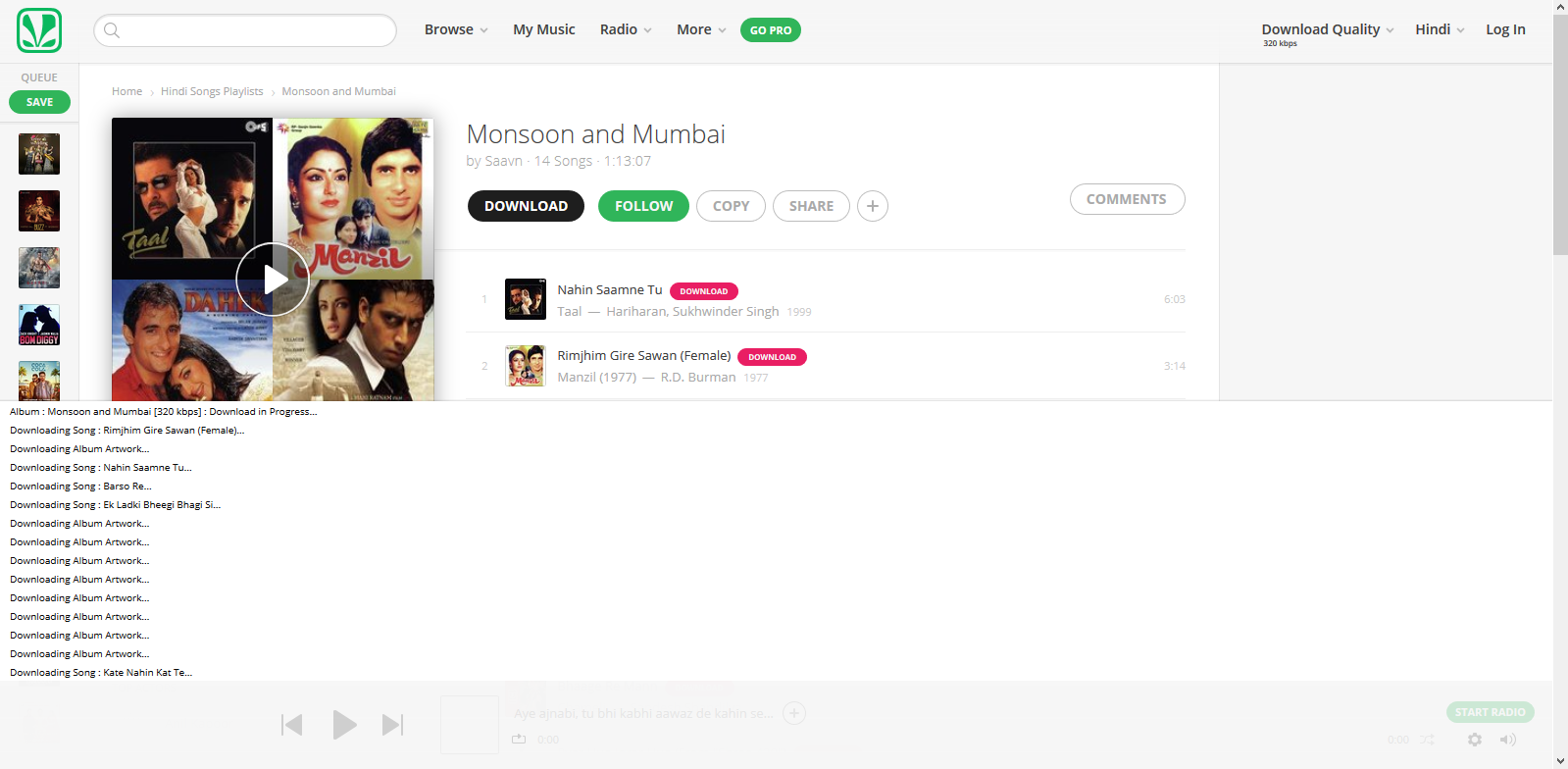 GitHub - naqushab/saavn-downloader-extension: Chrome