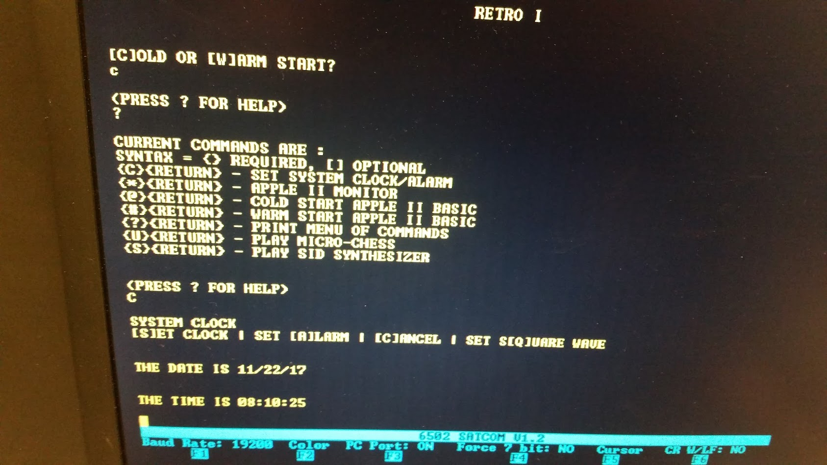 Diy 6502 Computer