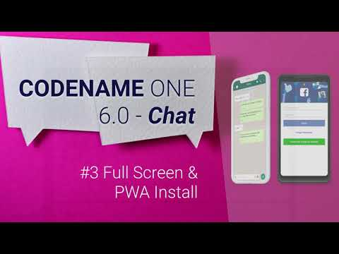5 Amazing Features in Codename One 6.0 - Chat
