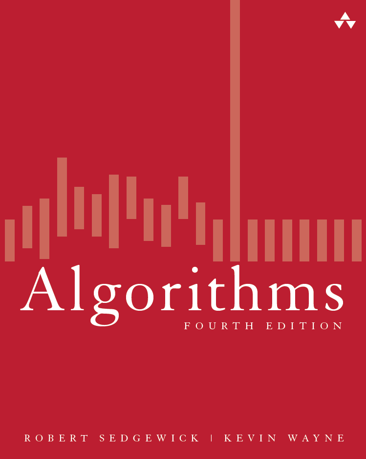 Algorithms 4/e textbook