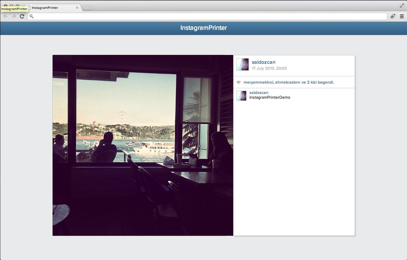 View Screen Shot