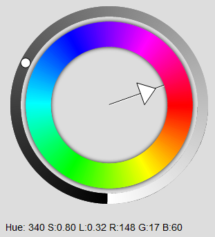 Color spot disabled