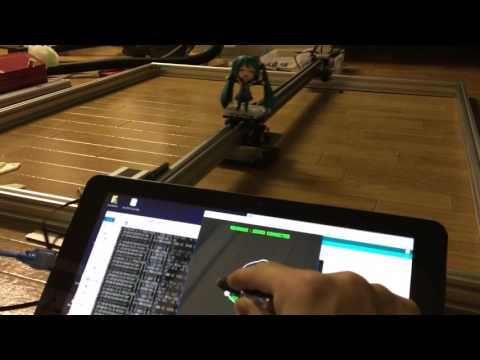 ofxGrbl : Grbl( CNC milling controll software for Arduino) with openFrameworks demo