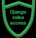 Django roles access