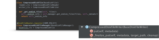 Figure 4: Source code within diskfile.py