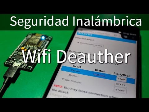 GitHub - wi-fi-analyzer/esp8266_deauther: ESP8266 deauther