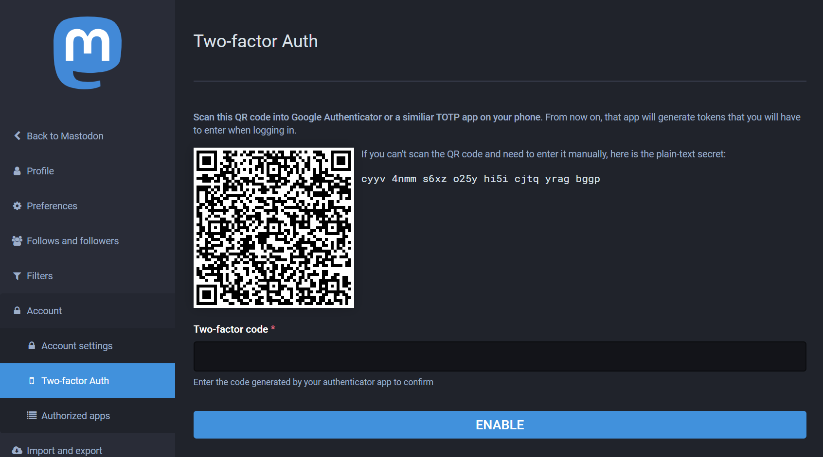 2fa Token Limit Length Of 16 Character Issue 654 Standardnotes Forum Github