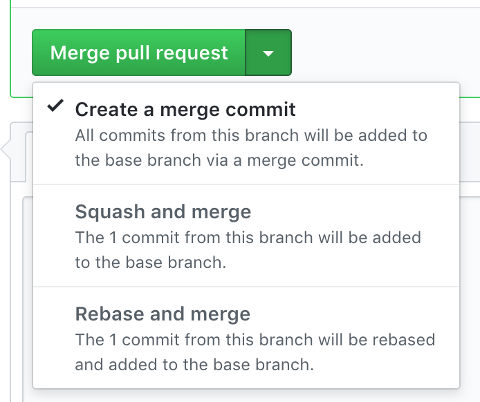merge button instructions