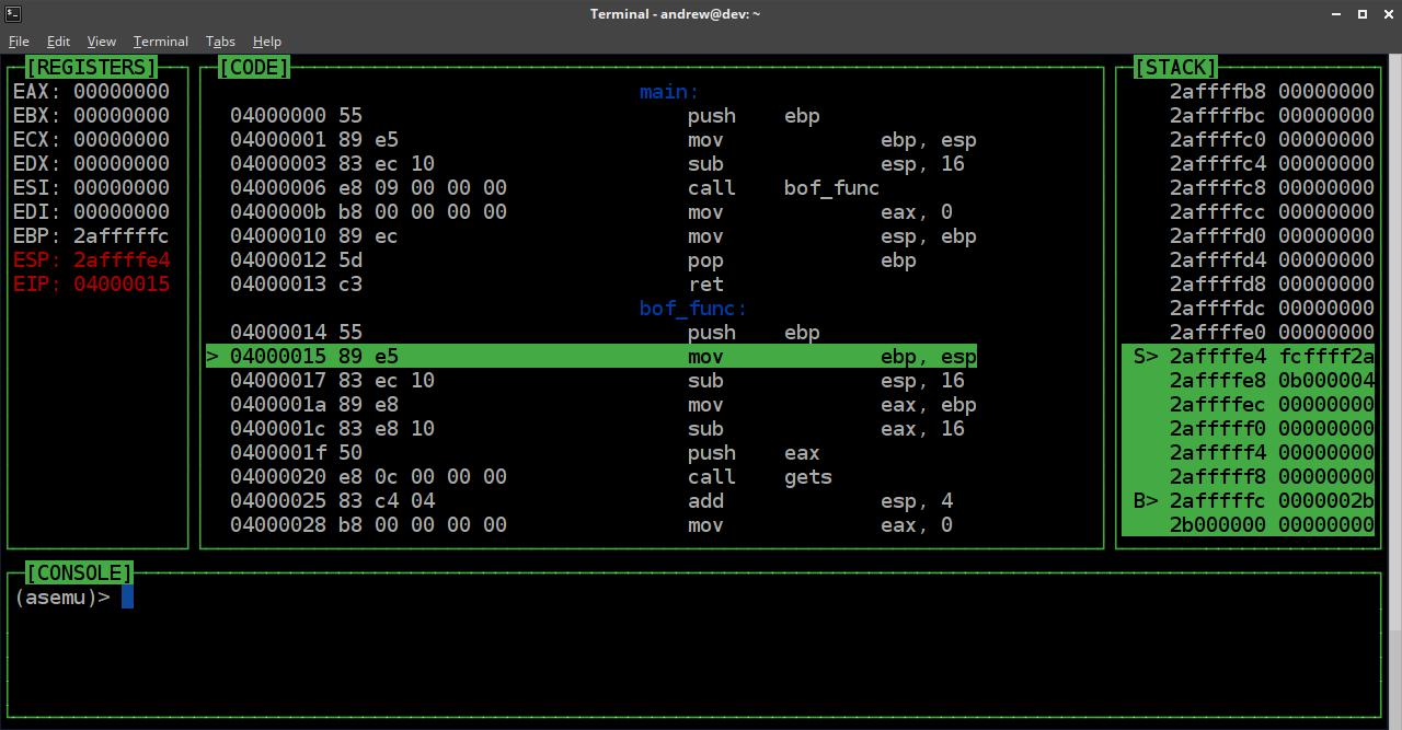 asemu screenshot