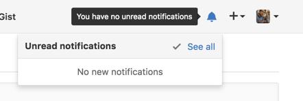 Notifications modal