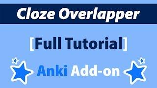 YouTube: Anki Cloze Overlapper: Full Tutorial