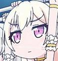 Chisato face expression