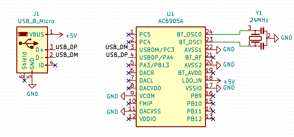 Схема подключени