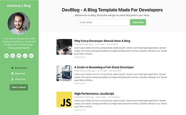 DevBlog color 1