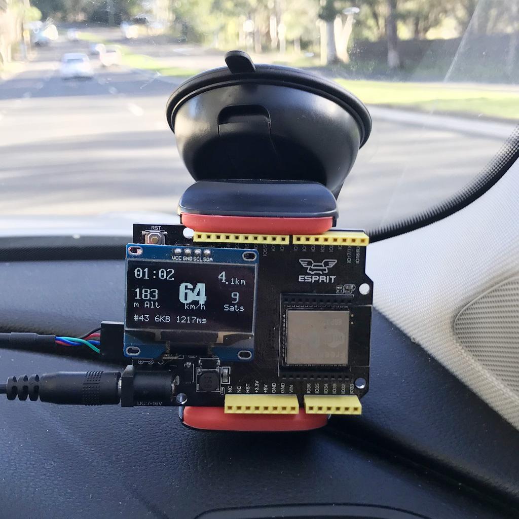 Freematics ESP32 GNSS Kit