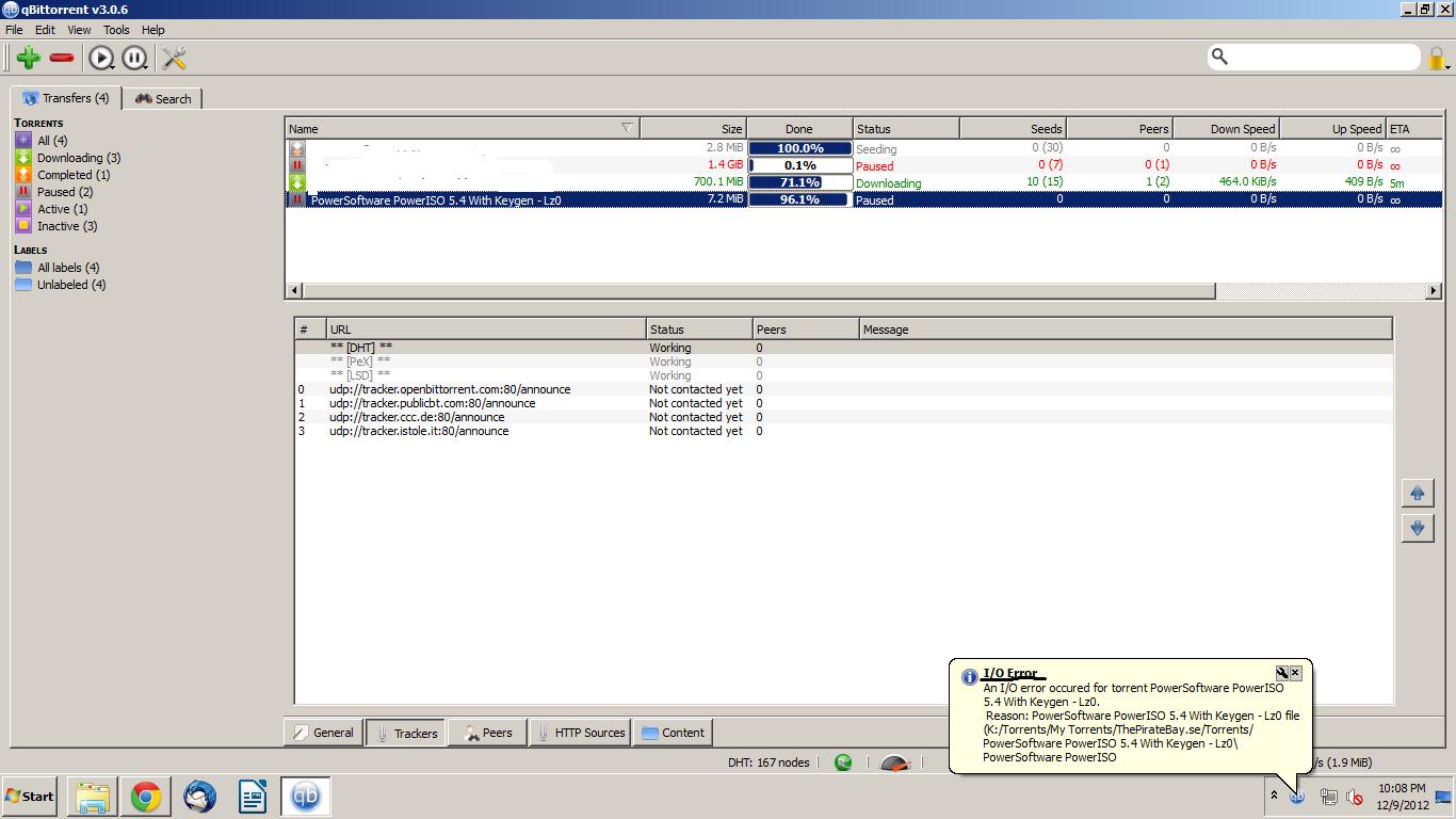 I/O Error When Adding Torrent on qBitTorrent · Issue #273