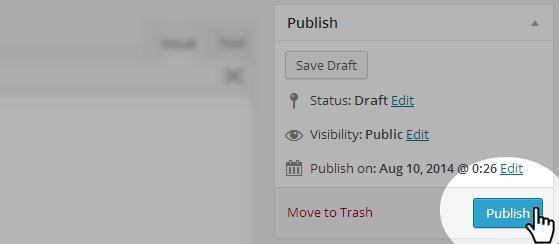 Events - Publish