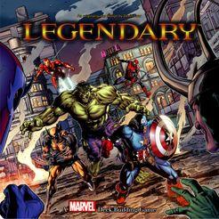 Legendary A Marvel Deck Building Game image