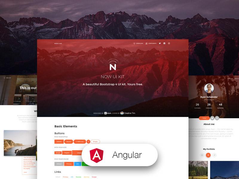 Now UI Kit Angular