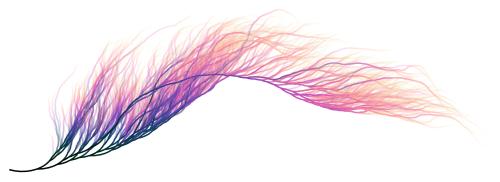 Visualization Collatz sequence