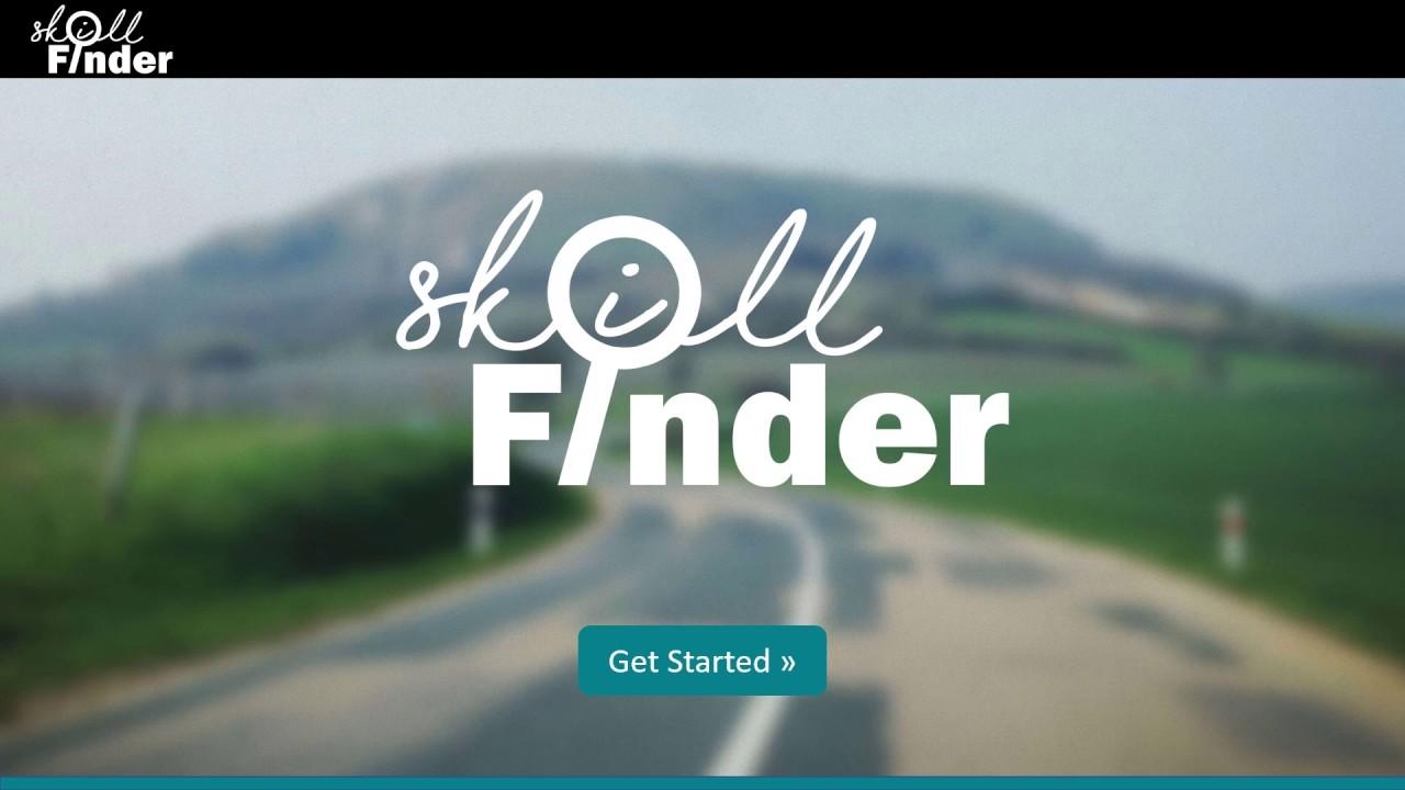 Skill Finder Video