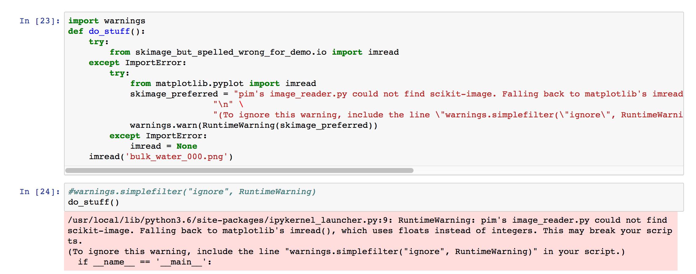 Incosistent imread() function behavior · Issue #280 · soft