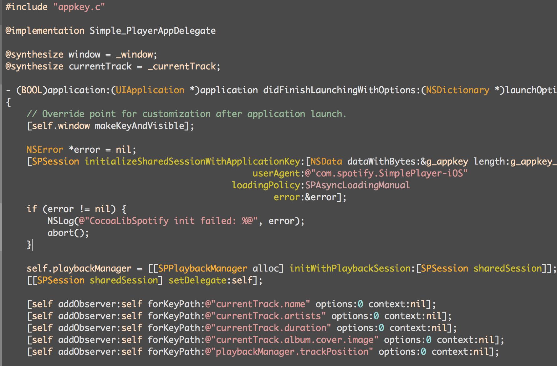 Zenburn Xcode Demo