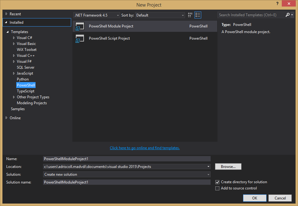 Debugging PowerShell Scripts · adamdriscoll/poshtools Wiki · GitHub