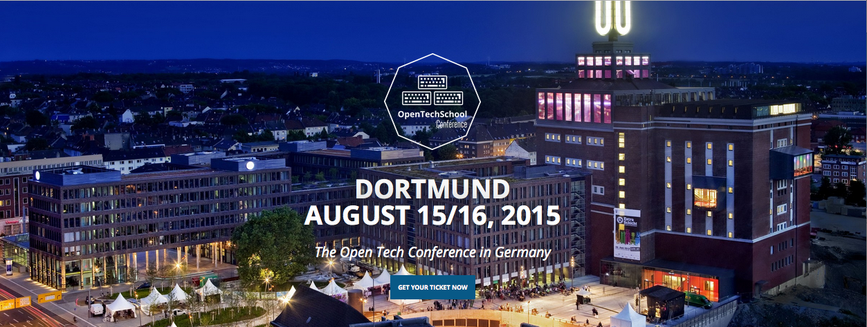 The first OpenTechSchool Conference — in August in Dortmund