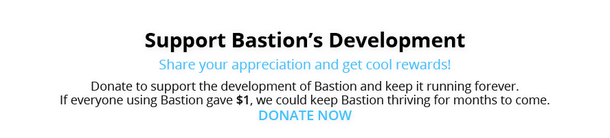 Donate to The Bastion Bot Project