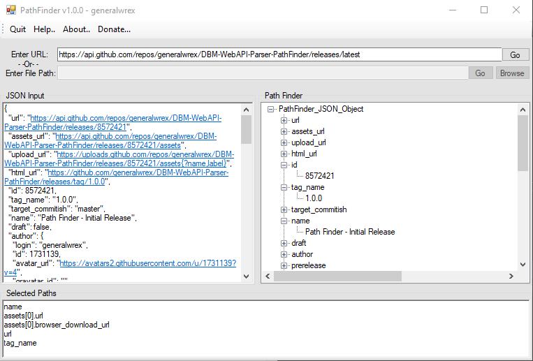 GitHub - generalwrex/DBM-WebAPI-Parser-PathFinder: Source for online