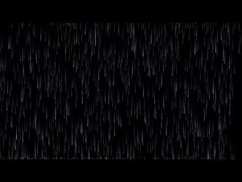 Procedural 2D rain