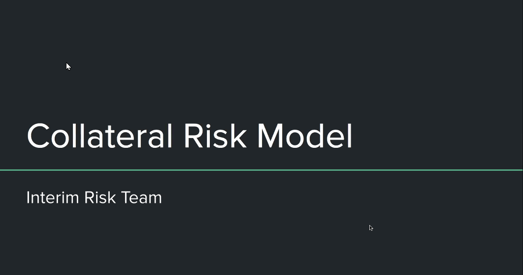 Collateral Risk Model