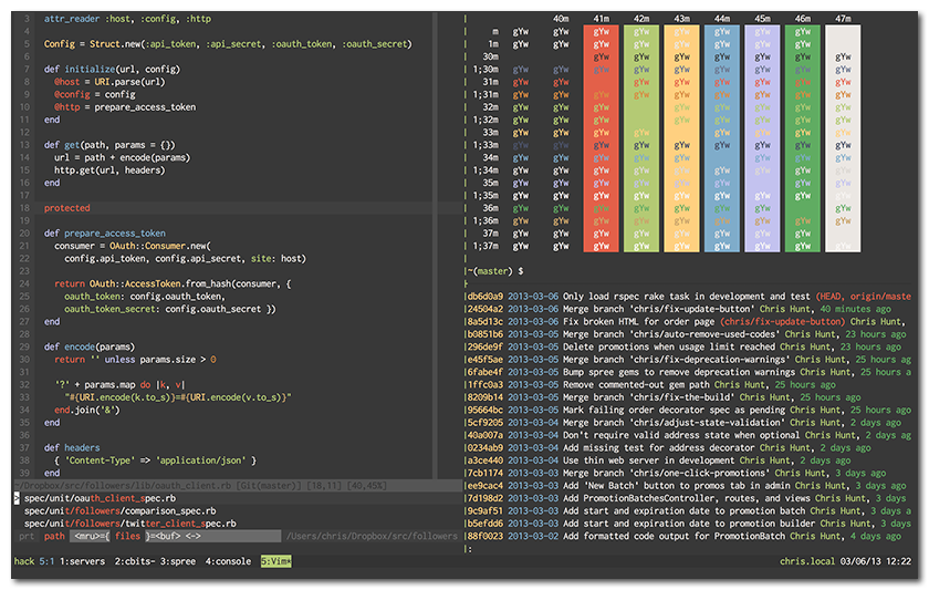 Github vim-scripts/ekini-dark-colorscheme: dark and cool color.