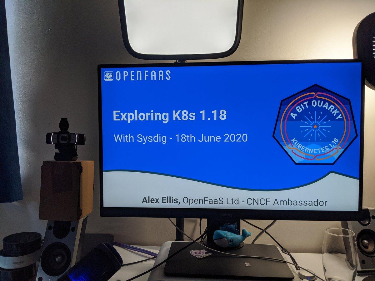 Webinar - exploring K8s 1.18