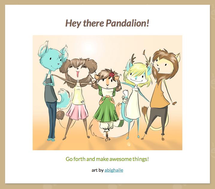Go Pandalion