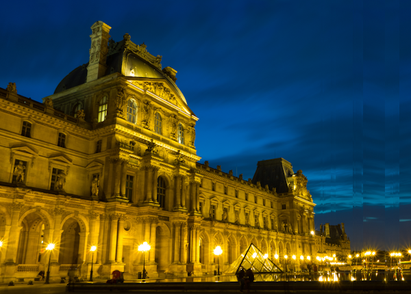 Blue hour in Paris, reconstructed using LKH