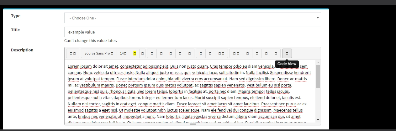 Editor not render properly in Firefox after switch to