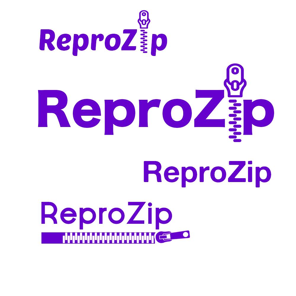 Repro Zip Logo 1st Draft: