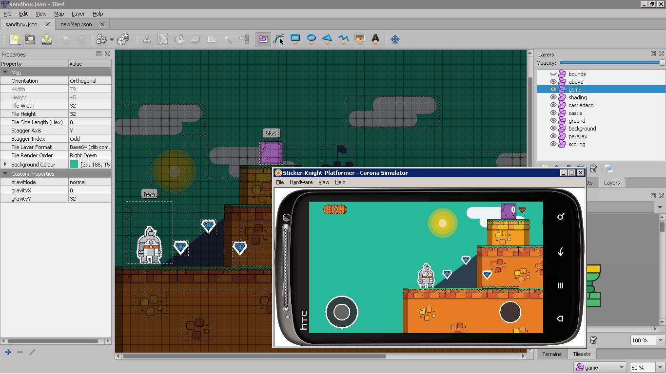 Screenshot of berry in action