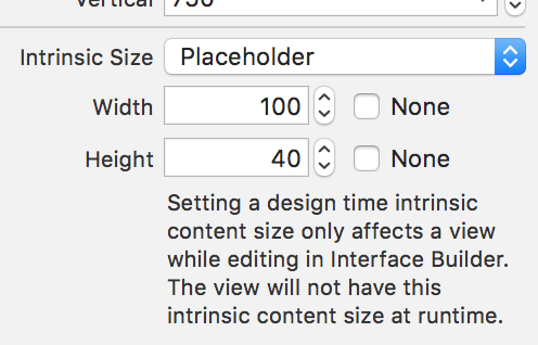 intrinsic content size