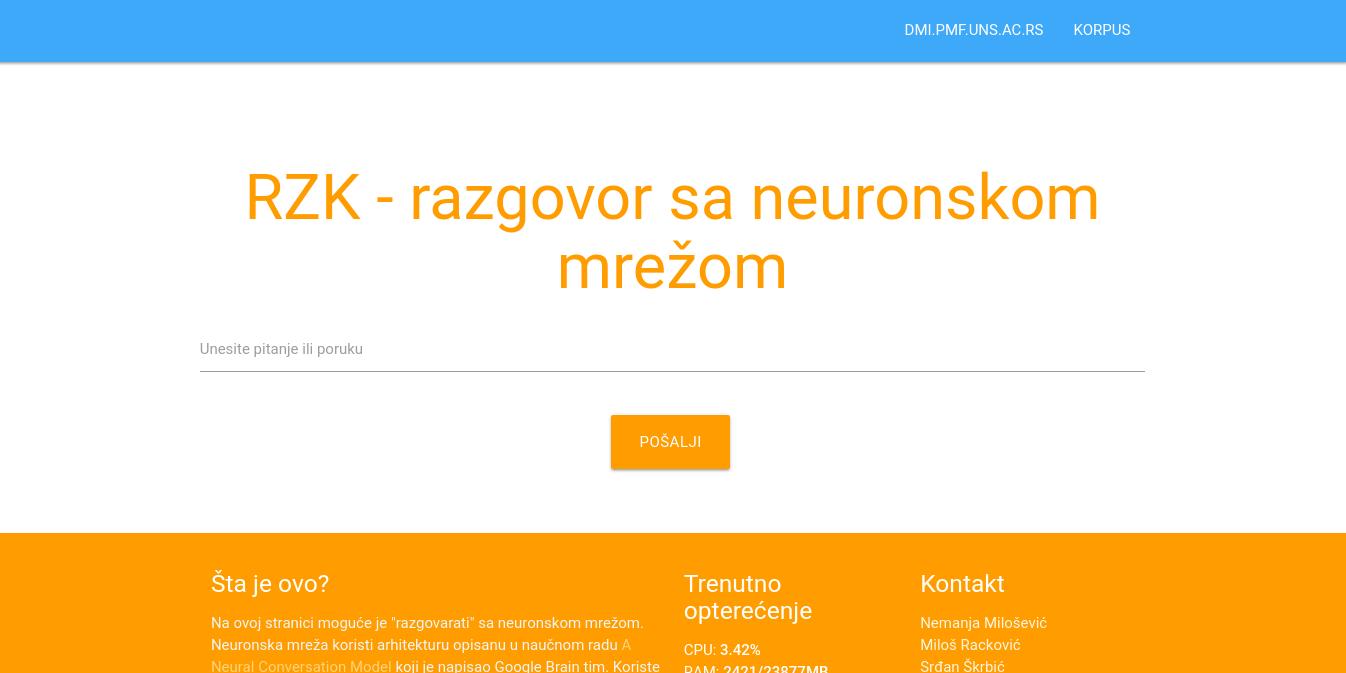 GitHub - nmilosev/mlsgcb: Machine Language Powered Serbian