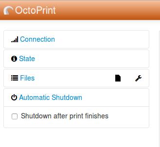 GitHub - OctoPrint/OctoPrint-AutomaticShutdown: Plugin for