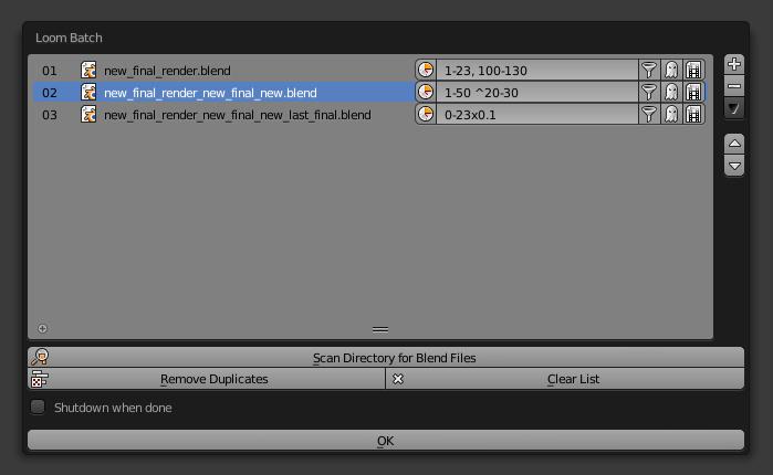 GitHub - p2or/blender-loom: image sequence rendering