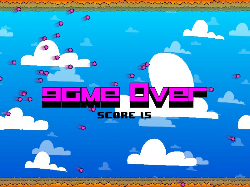 Screenshot of Game Over